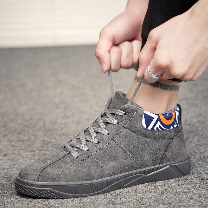 Dos A Do De Black gray Sexo Masculino Sapatos 2018 Homens Primavera red 9 Lazer Novos TAHxwqZzT