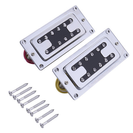 Hot pickup Humbucker for 6-string 12 pieces Double Coil Pickups Set for Electric Guitar Neck Bridge Pickup Humbucker Double Coil guitar pickup humbucker gold chrome black double coil pickups electric guitar parts accessories bridge neck set
