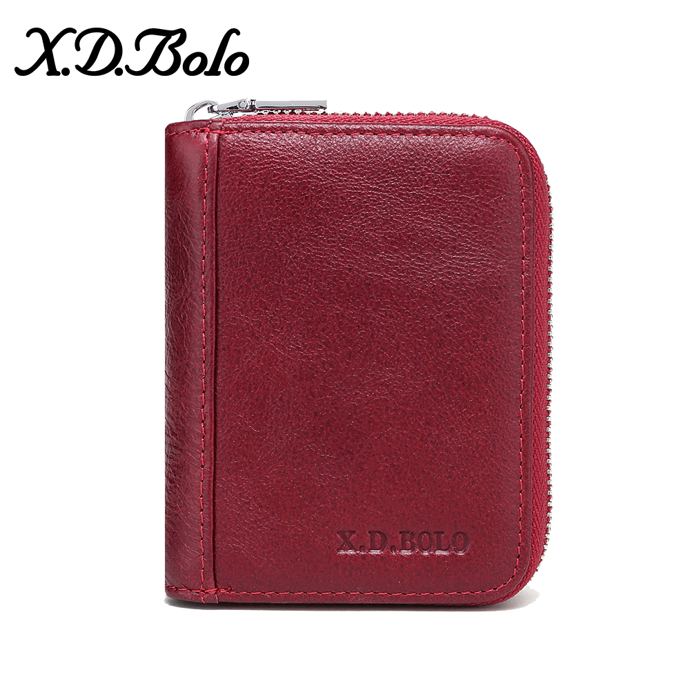 XDBOLO Hot 2019 Fashion Women's Purse Card Holder Women Small Wallet Zipper Clutch Coin Purse Female Bag Dropshipping