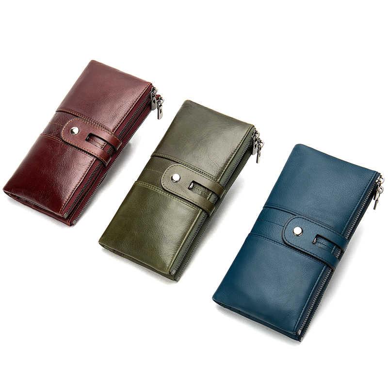 WESTAL 100%, женский кошелек, натуральная кожа, женский клатч, Длинный кошелек, женские кошельки и кошельки, портмоне, сумочка для денег, портмоне