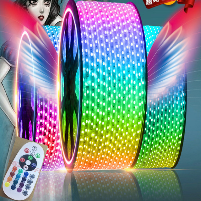 Aliexpress.com : Buy RGB Led Strip 5050 Waterproof Led Verlichting ...