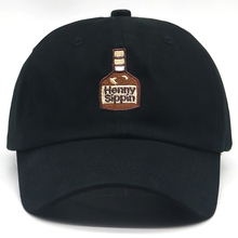 New Fashion henny baseball cap Henny Sippin wine bottle Dad Hat Vintage Rare Embroidered casual caps golf hat unisex wholesale henny penny 36839 slide