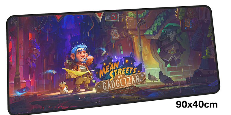 HearthStone mouse pad gamer Cartoon notbook mouse mat gel large gaming mousepad Gorgeous pad mouse PC desk padmouse accessories