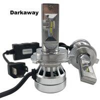 DarkAway H4 H7 LED 16000lm H1 H11 H8 HB3 HB4 H27 880 881 H3 5202 H15 D1S Car Headlights Auto Bulb 72W Cold White 12V 2y Warranty