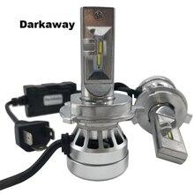 DarkAway Car LED Headlights H4 H7 H11 H8 HB3 HB4 H27 880 881 H1 H3 5202 H15 D2 Auto Bulb 16000lm 72W Cold White 12V 2y Warranty