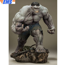 "20 ""SS 3002083 Estátua The Avengers Superhero Full-Length Retrato do Busto Hulk PF Collectible Toy Modelo de Ação PVC CAIXA 51CM Z2123(China)"