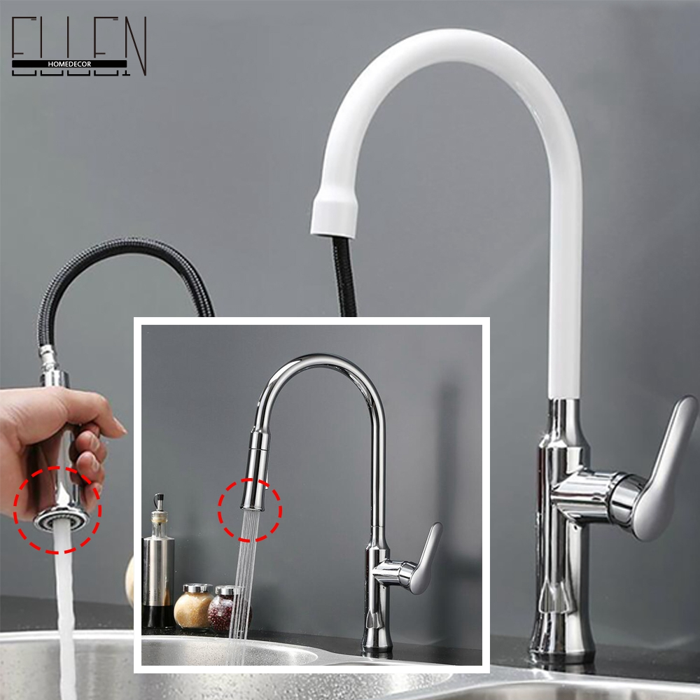 Kitchen Faucet Pull Out Hot And Cold Kitchen Mixer Copper