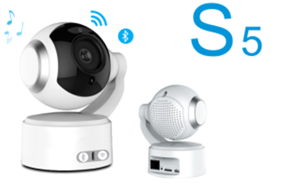 2MP 1080P Wireless Intercom PTZ CAMERA  With Bluetooth Speaker Function IP Camera 2MP 1080P Wireless Intercom PTZ CAMERA  With Bluetooth Speaker Function IP Camera