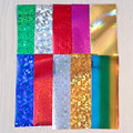 10 Colors/pack Colorful Shimmer Starry Sky Nail Foils 4*20cm Manicure Nail Art Sticker 1-10 Decoration
