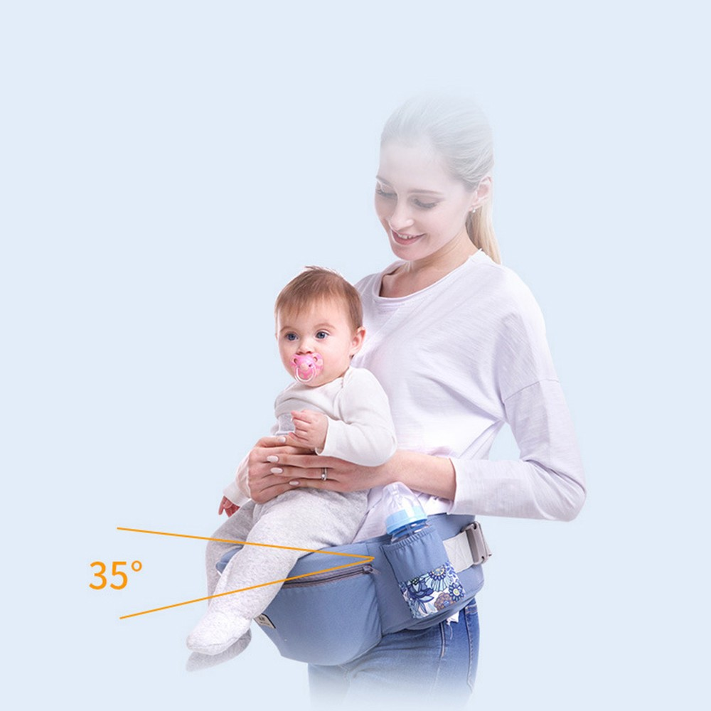 0-48M Ergonomic Baby Carrier Infant Baby Hipseat Carrier Front Facing Baby Wrap Sling For Travel 15