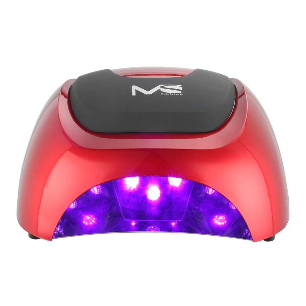 MelodySusie 48W Professional LED Lamp Best Nail Dryer Polish Machine for Curing Nail Gel Art Tool with Auto Sensor melodysusie 12w lamp nail for nail polish gel fast dry curing nail tools black white pink 2 colors nail dryer free shipping