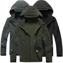 Куртки, softshell ветровка военные тактические водонепроницаемые флис лыжный пиджаки туризм отдых