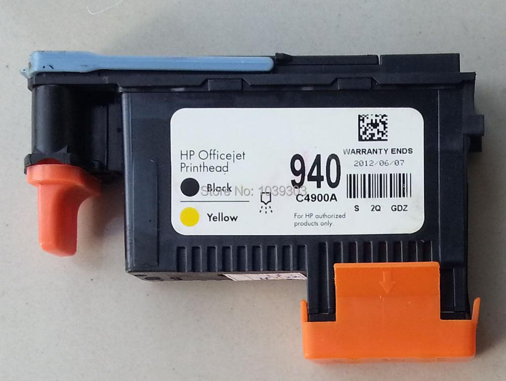 1 x Compatible HP 940 BLACK / YELLOW PRINTHEAD C4900A for HP OfficeJet Pro 8500 8000
