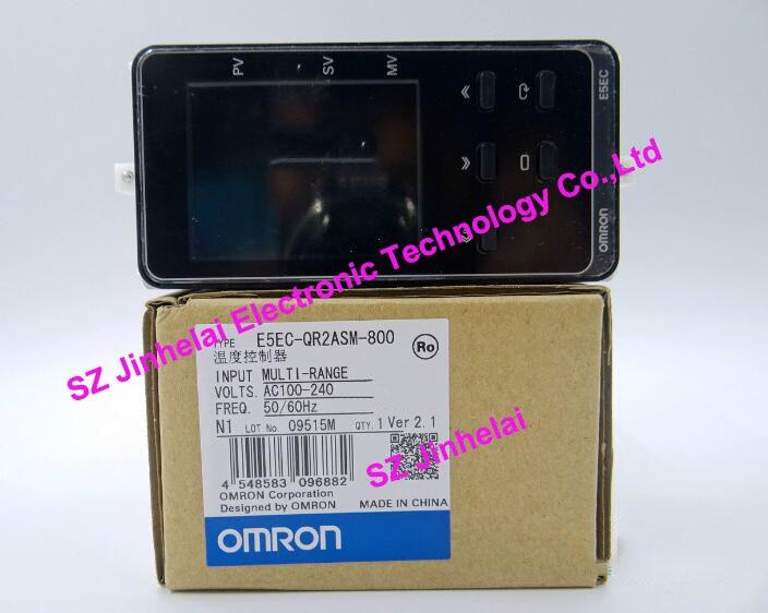 100% New and original E5EC-QR2ASM-800 OMRON AC100-240V Temperature controller [zob] 100% brand new original authentic omron omron photoelectric switch e2s q23 1m 2pcs lot