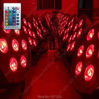 10pcs Lot Wireless Remote Control Fast Shipping American DJ Stage Lightings Disco LED Light Wash RGBW