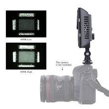 W160 Video Photography Light Lamp Panel 6000K 160 LEDs