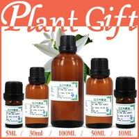 Бесплатная доставка 100% чистый завод эфирные масла Белый цветок орхидеи МАСЛО КИТАЙ Michelia Альба цветок для рубца Принн листья