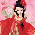 2015 New Arrival Chinese Bride Doll Wedding Gift - Tang Dynasty #9090  black Friday promotion