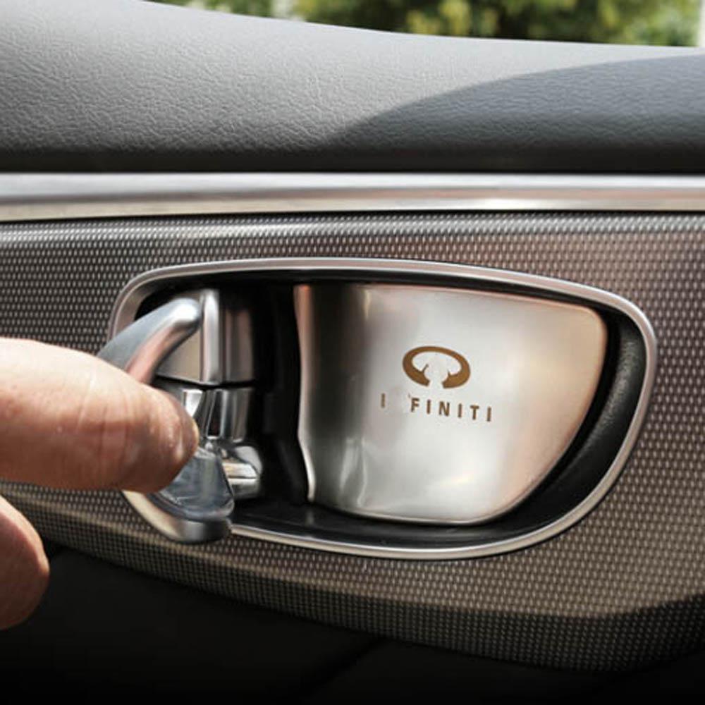 2014 Infiniti Qx60 Interior: Front Rear Door Handle Wrist Bowl Decorative Cover Trim