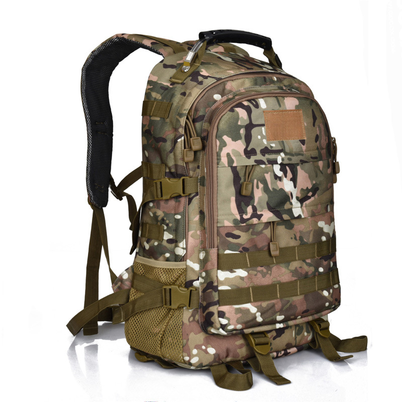 2017 Hot Sale Men 50L Military Army Bag Men Backpack High Quality Waterproof Nylon Laptop Backpacks Camouflage Bags FreeShipping swyivy 50l military army bag high quality waterproof nylon camouflage backpacks trekking 3p tactical backpack men s sports bag
