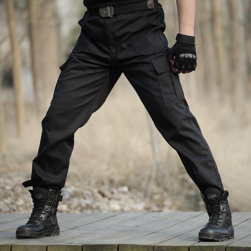 Черный военные тактические карго Штаны Для мужчин армейские тактические тренировочные штаны Штаны Для мужчин работает Штаны комбинезоны Повседневное Брюки Панталоны CS|tactical cargo pants|cargo pants mencargo pants | АлиЭкспресс