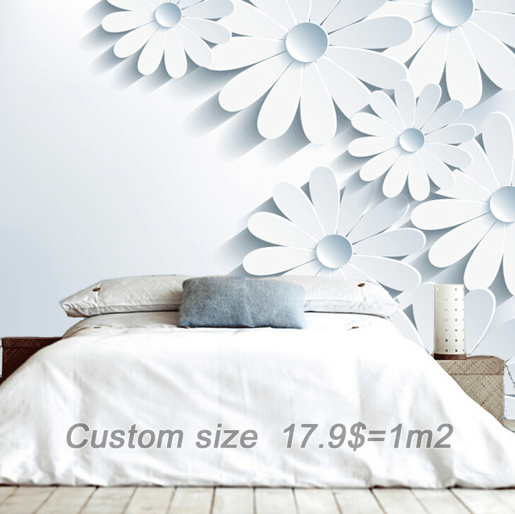 Free Shipping Continental Perspective Mural Wallpaper 3d
