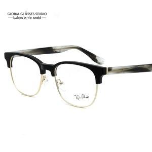 Image 4 - Designer Inspired Fashion Grey Metal Cool Eyewear Optical Frames Glasses G71