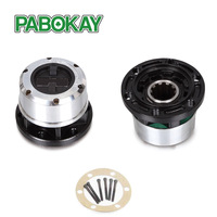 2 pieces x FOR JEEP UAZ GAZ 1961-->  FREE WHEEL LOCKING HUB B056 AVM410 STEEL 10 teeth