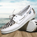 Fashion Casual Men's boat shoes Spring /Autumn european style lace-up Flat men's shoes round toe lightweight men's shoes