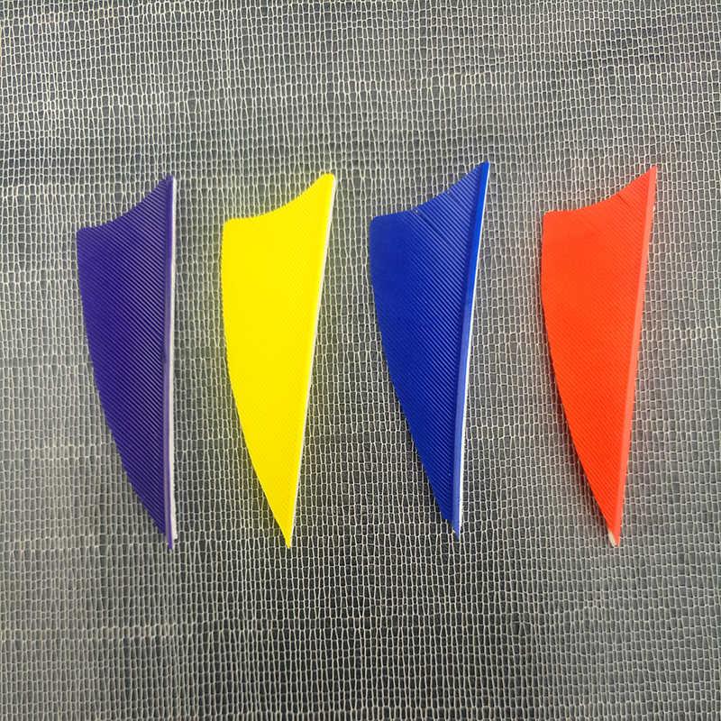 80 個 2icn アーチェリー七面鳥の羽左翼矢印自然羽シールド形状七面鳥の羽アーチャー弓 flecthed 狩猟
