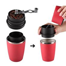 Manual Coffee Hand Grinder Espresso Machine Coffee Hand Grinder Pressing Bottle Pot Coffee Maker Filter Cup Cooking Kitchen Tool
