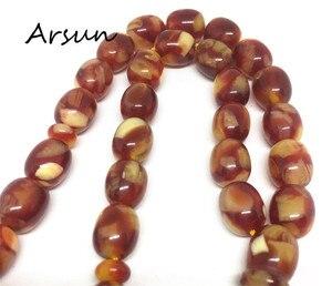 Image 5 - 10mm*11mm Resin Beads 33 Prayer Beads Islamic Muslim Tasbih Allah For Men and Women Free Shipping