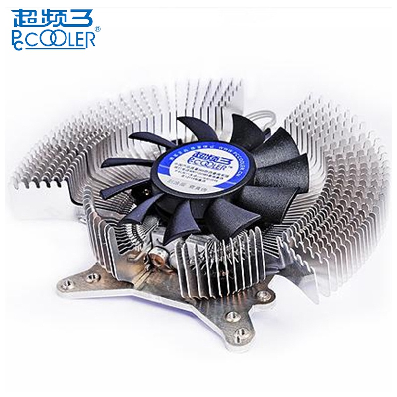 цена PCCOOLER K60 3Pin Mute Graphics Card Cooling Fans Radiator PC Cooler 1.2W For Initial NVIDIA Geforce ATI For PC Graphics Card