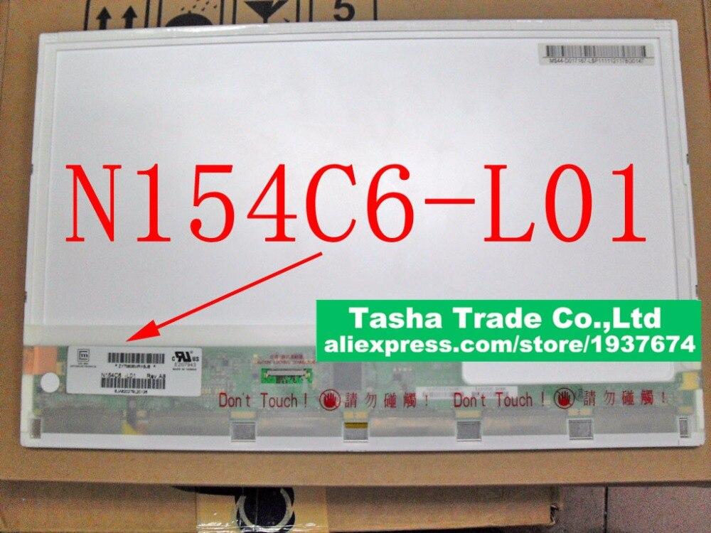 N154C6-L01 N154C6 L01 Laptop LCD Screen Panel Original Good Quality Matrix 1440*900 15.4 Panel original a1706 a1708 lcd back cover for macbook pro13 2016 a1706 a1708 laptop replacement