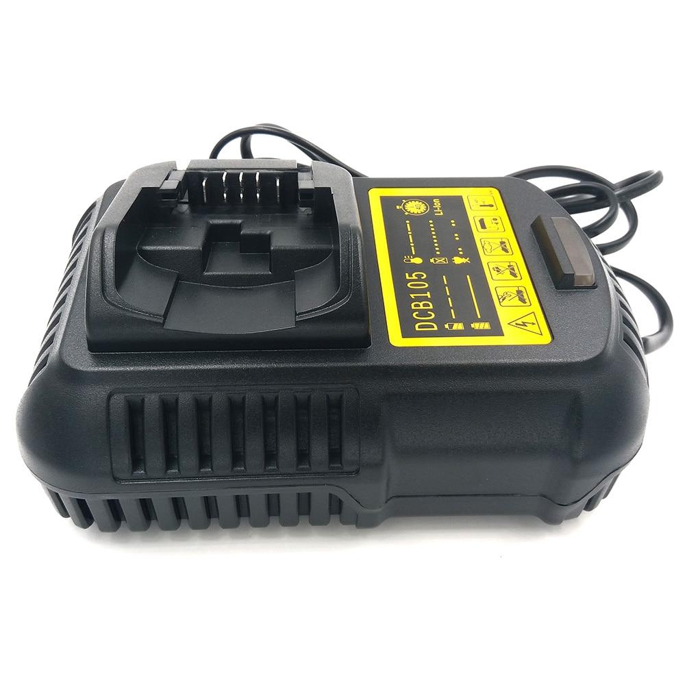 Charger,DEW,Lithium-Ion Battery Charger,12V-20V,D-65510,DCB105,DCB200 DCB201,DCB100,DCT410S1,DCT414S1,DCL510,DCF610,DCF610S2