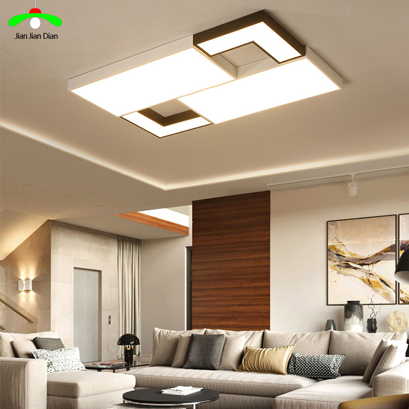 ultra-thin dimmable square LED ceiling lighting ceiling lamps for the living room chandeliers Ceiling for the hall ceiling lamp ...