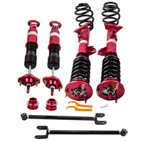 Adjustable Coilovers Suspension Shock Absorber Strut for BMW E36 316 318 320 328 With Control Arms Damper Red