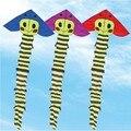 Envío de la alta calidad 6 m Oruga kite10pcs/lot dibujos animados cometa con la línea de mango pulpo kite flying pipas voadores adultos