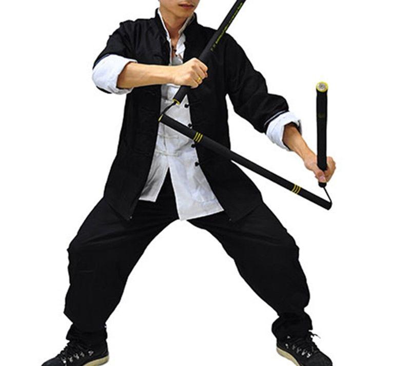 Alibaba グループ 上の 純粋な綿カンフー詠春太極拳の制服拳 JKD カンフー武術武道服 3 ピース/セット 1