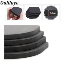 4PCS/Set Kitchen Furniture Leg Rubber Pads Multifunctional Anti-Vibration Non-slip Mats Refrigerator Washing Machine Legs Pads 8pcs black furniture chair desk feet protection pads eva rubber washing machine shock non slip mats anti vibration noise