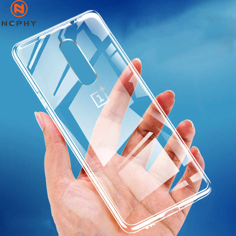 Ultra Dunne Soft Silicon Clear Transparante Telefoon Case voor OnePlus 5 5T 6 6T 7 7T Pro full Body Beschermende Funda voor Een Plus 7