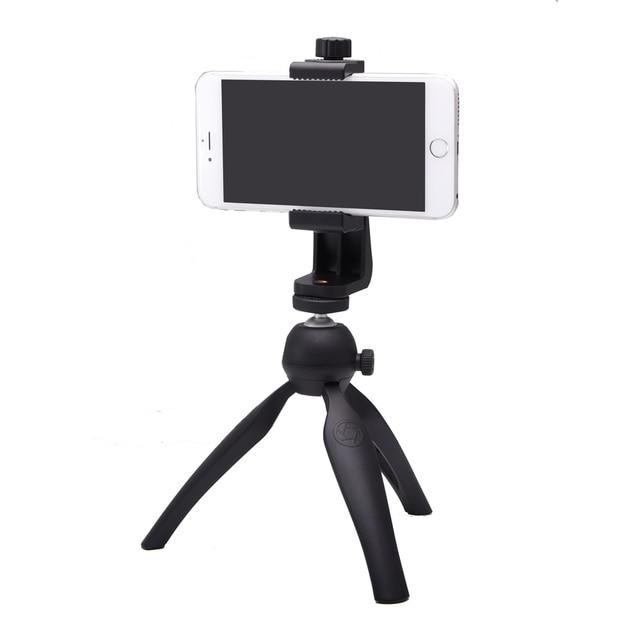 SETTO ขาตั้งกล้อง/โทรศัพท์มือถือ Clipper ยึดแนวตั้งคลิปสมาร์ทโฟน 360 อะแดปเตอร์สำหรับ iPhone Samsung โทรศัพท์มือถือ
