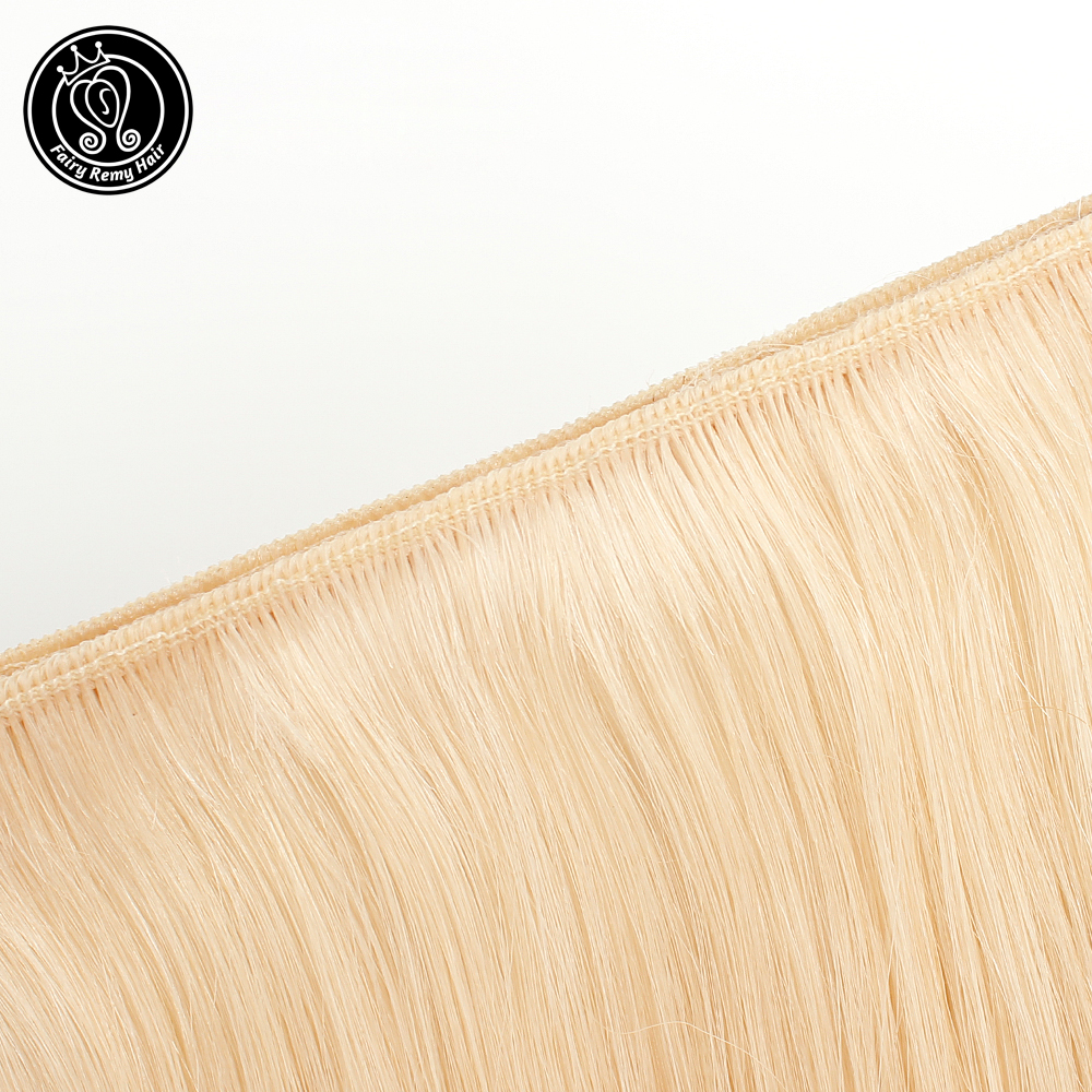 Fairy Remy Hair 100g/pc 18 Inch Real European Straight Human Hair Bundles Weft Highlight Piano Color Human Remy Hair Weaves