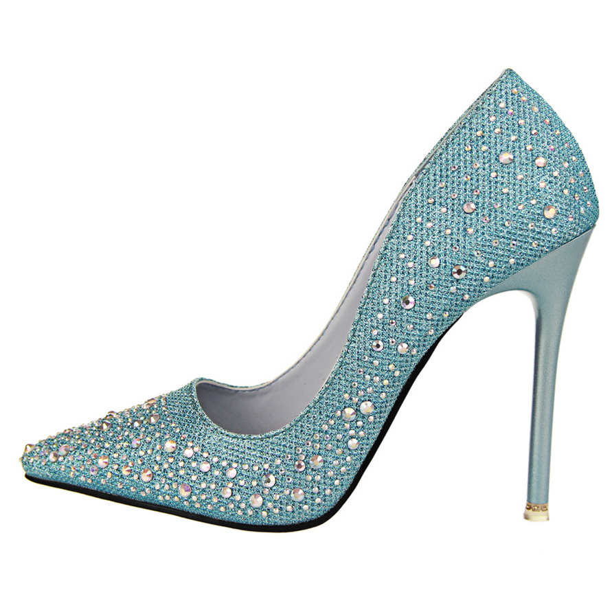 Black And Silver Sparkle Shoes