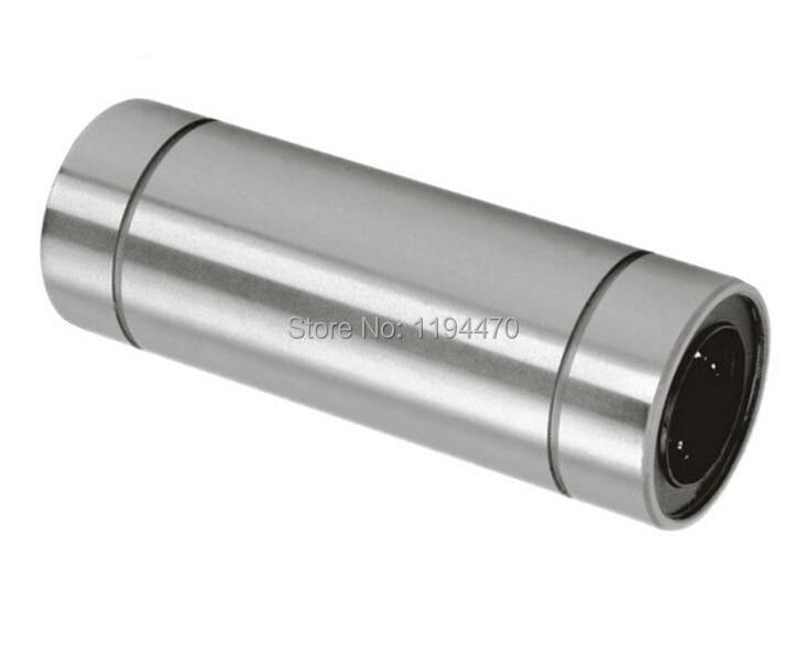 1pcs LM20LUU 20x32x80 mm Long Linear Ball Bearing Bushing Linear Motion Bearing For 3D Printer CNC Parts 1pcs scv20 scv20uu sc20vuu 20mm linear bearing block bushing with lm20uu for cnc