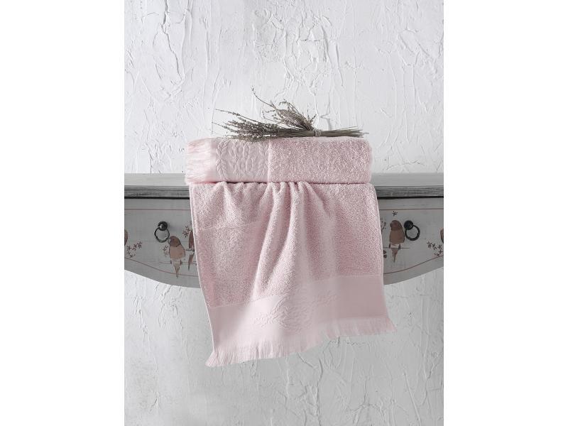 towel bath wellness симпл 70 140 cm peach Towel bath KARNA, DIVA, 70*140 cm, face powder