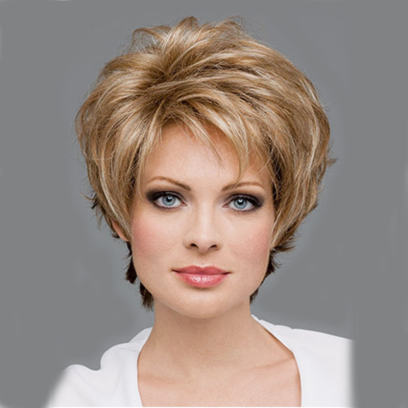 Women's Wig on Sale Short Blonde wigs For Women Natural Hair ...
