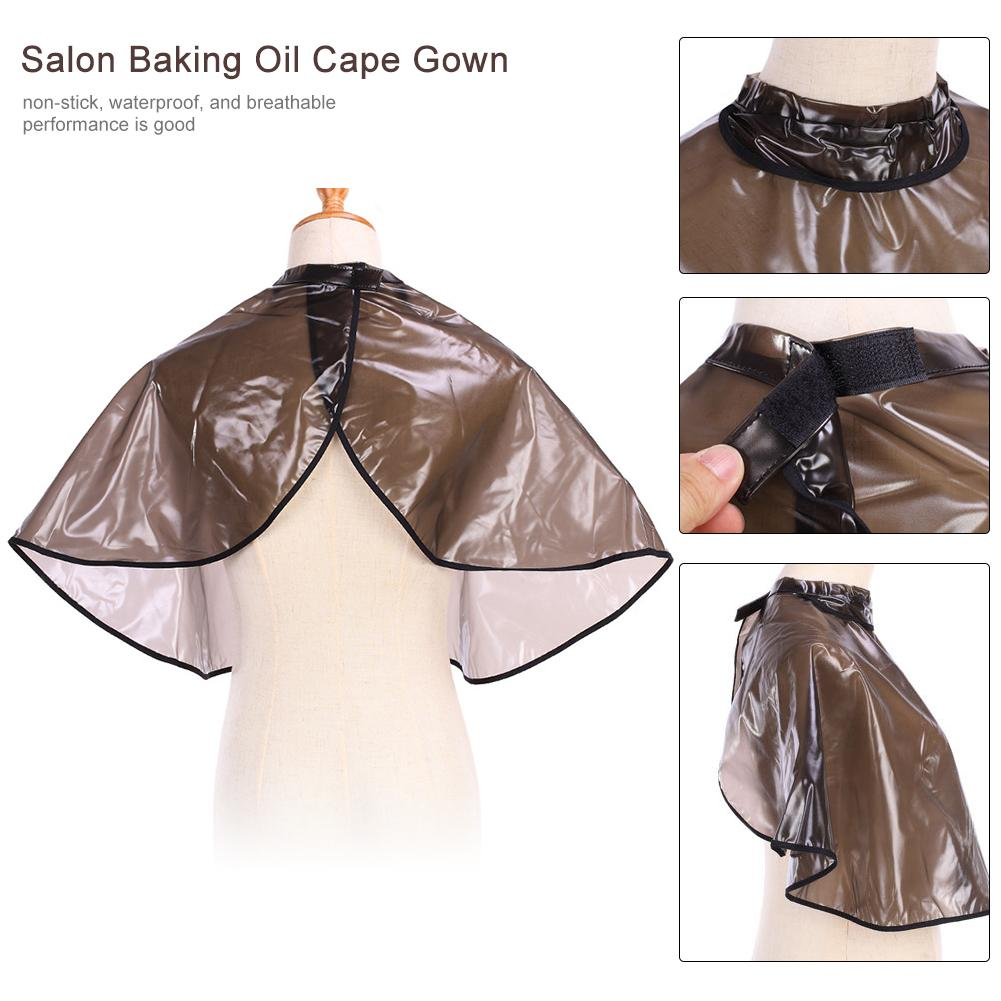 Professional Waterproof Hair Dye Cape Rebonding Hairdressing Cape Cover For Barber Shop Hair Salon Hair Cutting Accessories