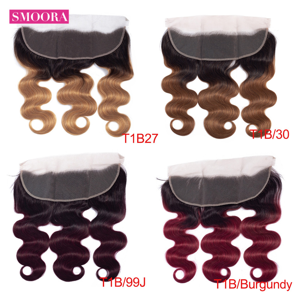 body wave ombre frontal