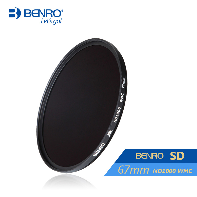 ФОТО Benro 67mm ND1000 Filter SD ND1000 WMC Filters 67mm Waterproof Anti-oil Anti-scratch Neutral Density Filters Free Shipping